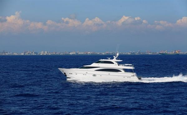 Luxury yacht Arabella II