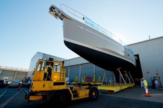Luxury yacht Oyster 885-01 by Oyster Yachts