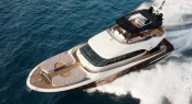 MCY 70 Yacht - view from above