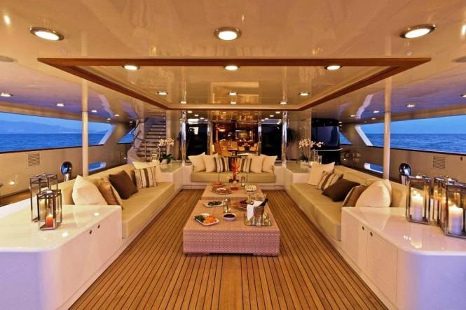 Main Deck - O'MEGA yacht