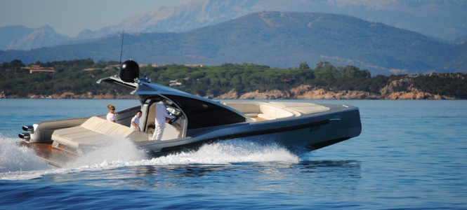 Maori 52 Collider yacht tender delivered by EYOS Tenders