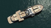 Motor Yacht tender Continental 100 by CNM from above