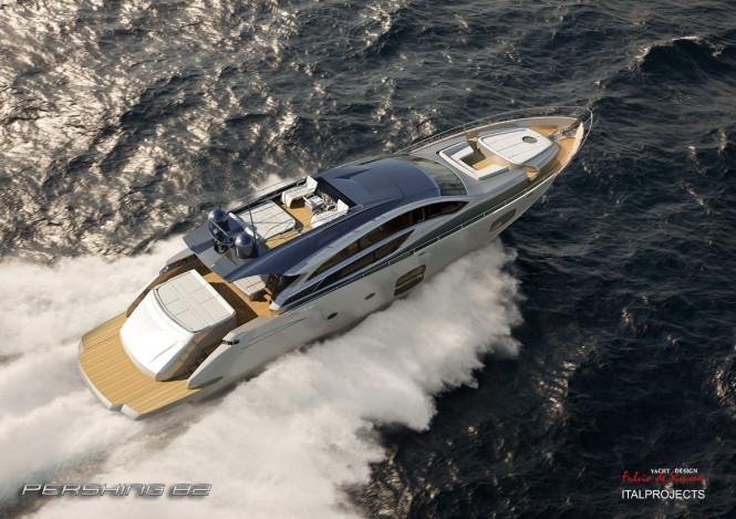 Motor yacht Pershing 82