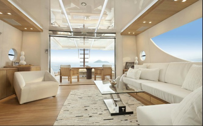 NISI 2400 yacht Main Saloon - Image courtesy of NISI Yachts