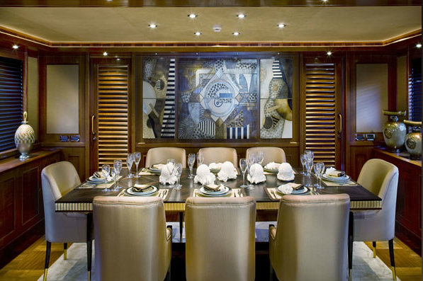 Navetta 43 superyacht Sofico - Dining