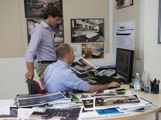 Overmarine Group Mangusta's in-house team working