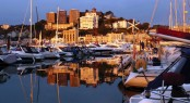 Photo Competition Winner - Christopher Corton with 'Stunning sunset across Torquay Marina'
