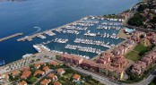 Porto San Rocco Marina in Italy