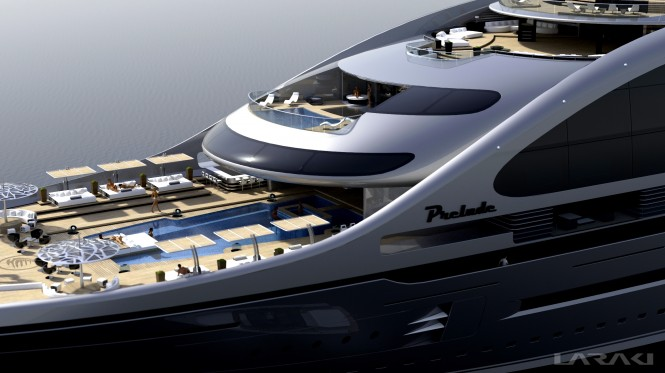 Prelude superyacht - Decks