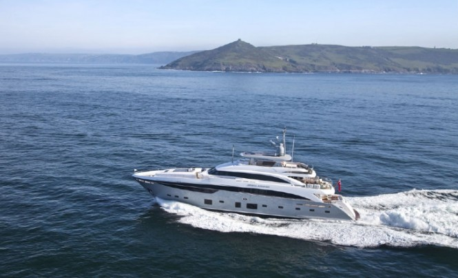 Princess 40M luxury yacht Imperial Princess