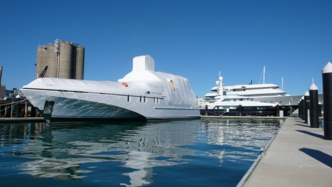 Refit of the White Rabbit Echo superyacht - Stage 1