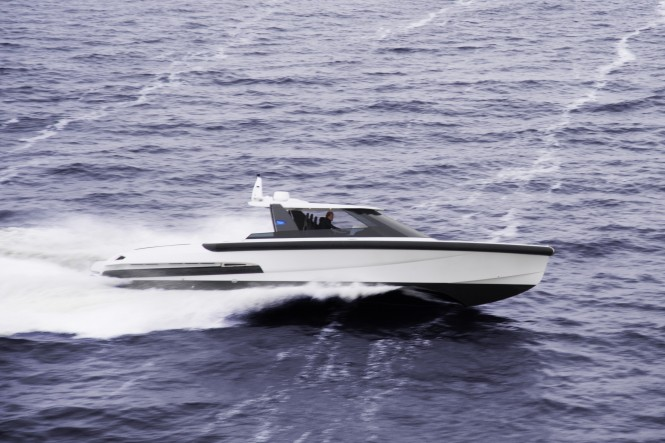 Ribbon 45 SC yacht tender by Ribbon Yachts and Vripack