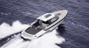 Ribbon 45 SC yacht tender - upview