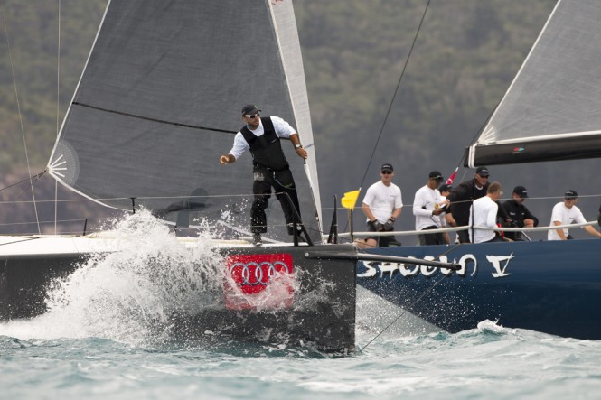 Sailing yacht Hooligan and Shogun V - Photo by Andrea Francolini/AudiHOOLIGAN
