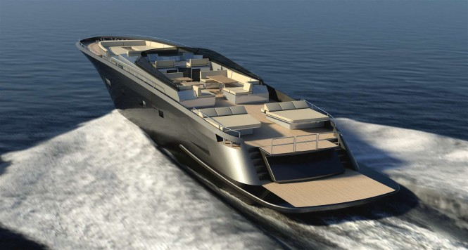 Stylish Continental 100 yacht tender