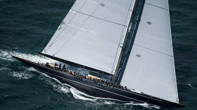 Superyacht Lionheart - a Winner of the Hundred Guinea Cup