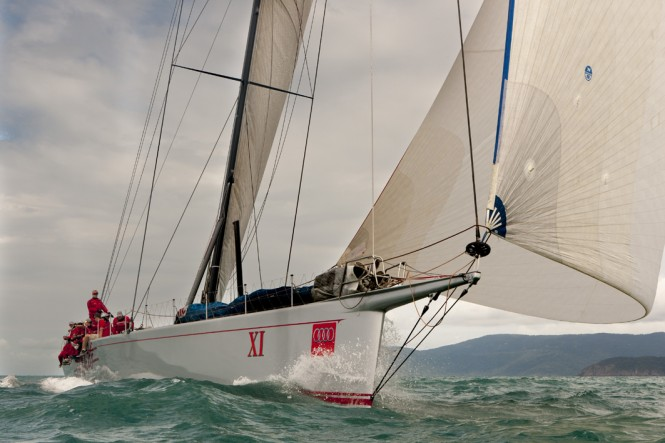 Superyacht Wild Oats XI - Photo by Andrea Francolini/AudiWILD OATS XI