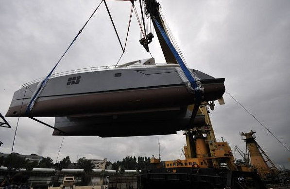 The launch of the 70 Sunreef Power yacht SKYLARK by Sunreef Yachts