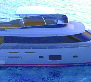 Motor yacht Magellano 76 by Azimut to be exhibited at the 2012 Genoa Boat Show