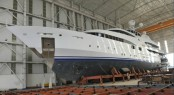 The re-launch of the 70m motor yacht Nourah of Riyad