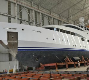 Yachtley motor yacht NOURAH OF RIYAD refitted and lengthened