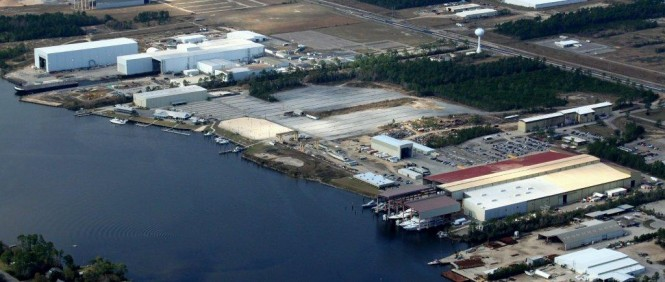 Trinity Yachts' Gulfport Shipyard - January 2012
