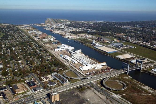 Trinity Yachts' New Orleans Shipyard