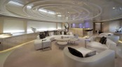 Upper Salon of the DARLINGS DANAMA motor yacht