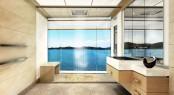 110m megayacht Equilibrium - Bathroom