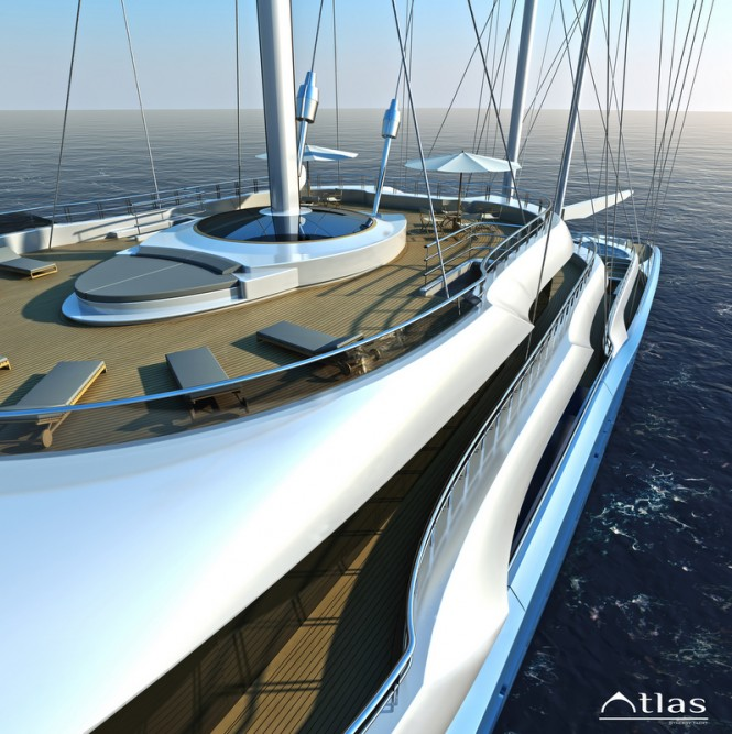 110m superyacht Atlas