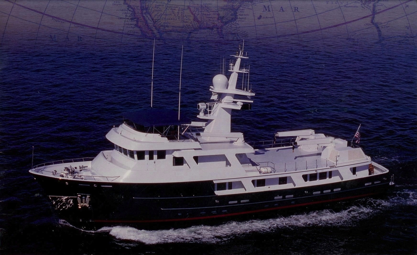 125ft Expedition Yacht Huracan Yacht Charter