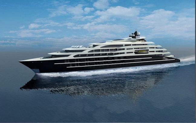 138m Mega Yacht Balaena Concept By Newcruise