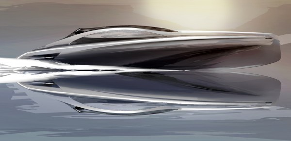 14m Granturismo yacht tender by Mercedes-Benz Style and Silver Arrows Marine