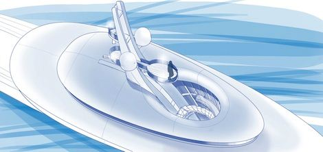 2012 Future Concept 'Relativity' by Feadship from Above
