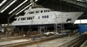 34-metre superyacht Sudami refitted by Solent Refit