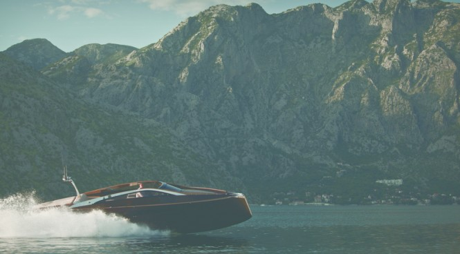 37-foot Antagonist yacht tender by Art of Kinetik