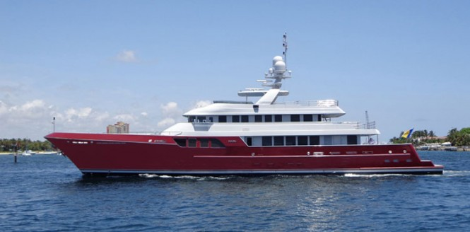 46m luxury motor yacht Mazu by Cheoy Lee