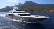 50m La Pellegrina superyacht by Couach Yachts on display in Cannes