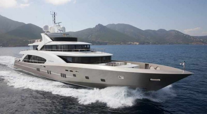 50m luxury motor yacht La Pellegrina by Chantier Naval Couach