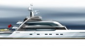 55m motor yacht Project Oxygen by BMT Nigel Gee and Claydon Reeves