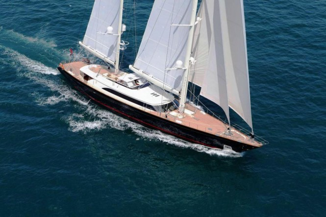56 m superyacht Fidelis by Perini Navi