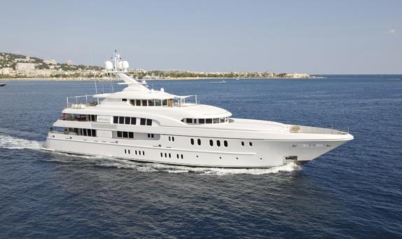 60m luxury charter yacht Arkley by Lurssen