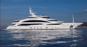 61m megayacht Diamonds are Forever by Benetti Yachts - the largest vessel on display in Cannes