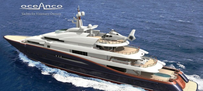 88.5m megayacht Nirvana - side view