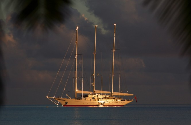 90m superyacht Athena by Royal Huisman - Photo Credit Max Cumming