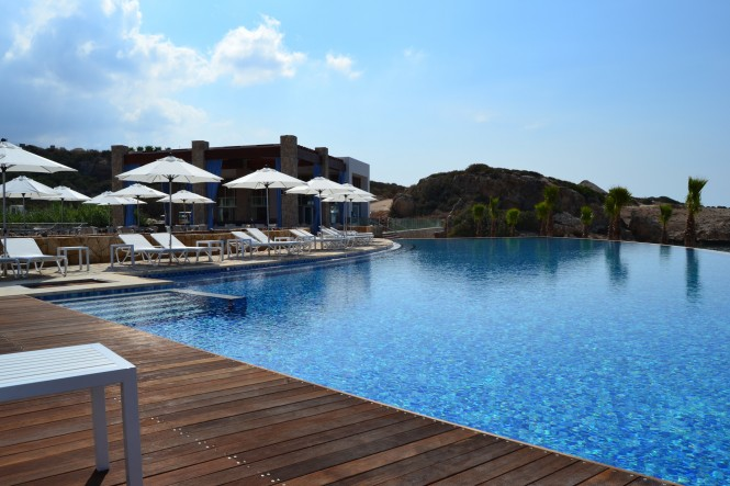 A Luxury Beach Club at Karpaz Gate Marina in Northern Cyprus