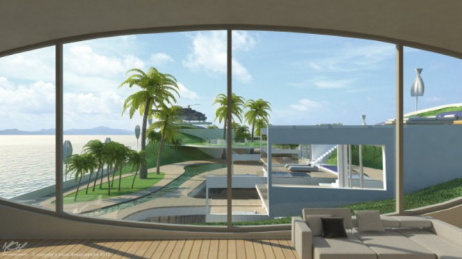 Aboard Island(E)motion yacht - Photo credit: MCM Designstudio 2012
