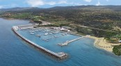Aerial view of the Karpaz Gate Marina