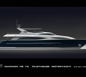 Alia 36-metre superyacht Aliyoni - Image courtesy of Warwick Yacht Design