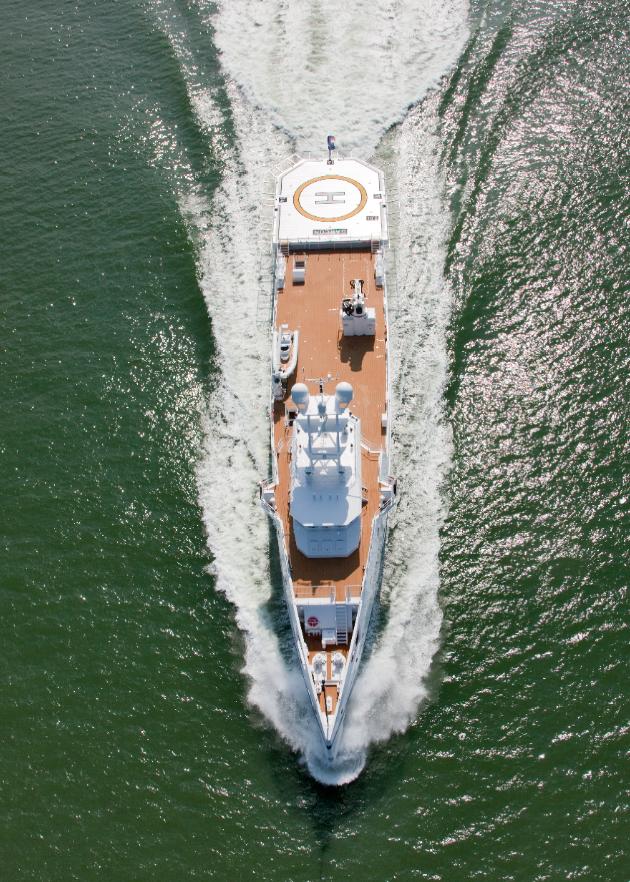 Damen FYS vessel Garcon 4 Ace